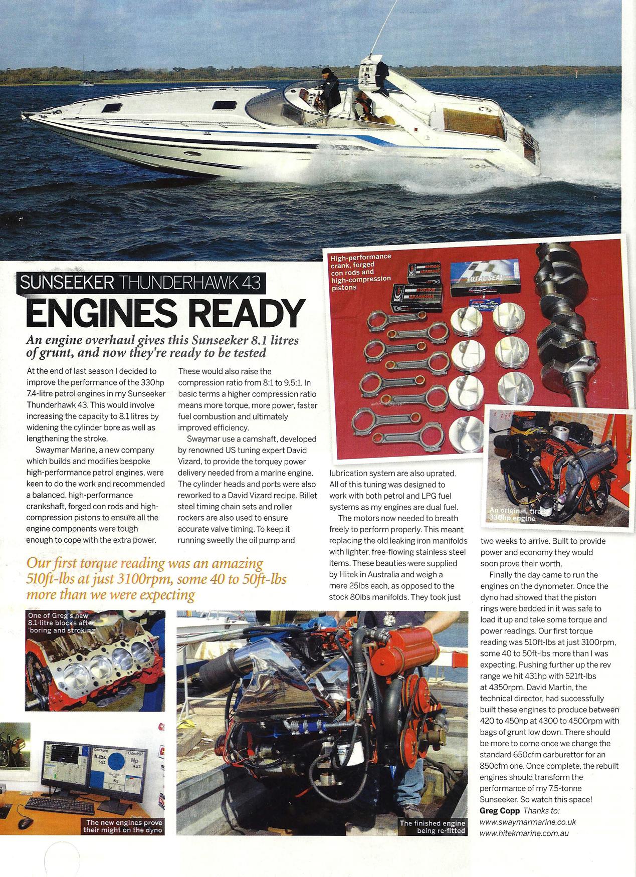 Projects Undergone By Swaymar Marine 10 Pin Mercruiser Wiring Harness